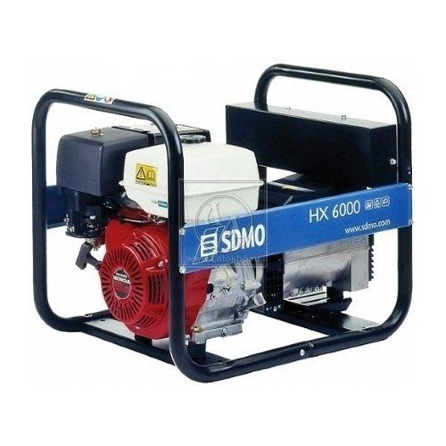 Аренда, прокат бензинового генератора SDMO HX 6000 (Франция)
