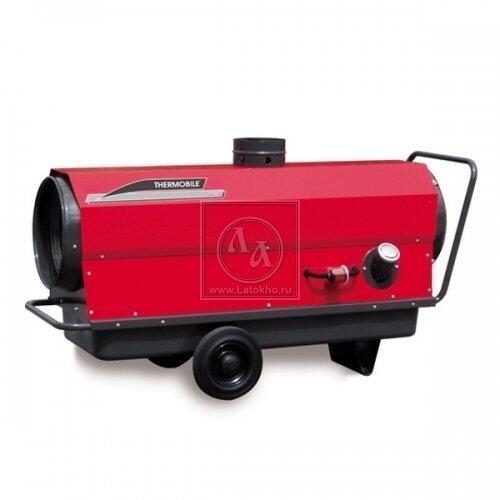 Аренда, прокат дизельной тепловой пушки, теплогенератора непрямого горения, нагрева THERMOBILE ITA 45 (Нидерланды)