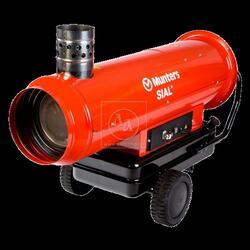 Аренда, прокат дизельной тепловой пушки, теплогенератора непрямого горения, нагрева MUNTERS SIAL MIR 85 WE (Италия)