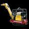 Аренда, прокат бензиновой виброплиты реверсивной DYNAPAC LG-140 (Швеция)