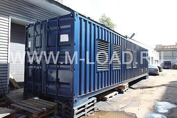 Нагрузочная установка для тестирования генераторов НМ-1000-Т400-К2
