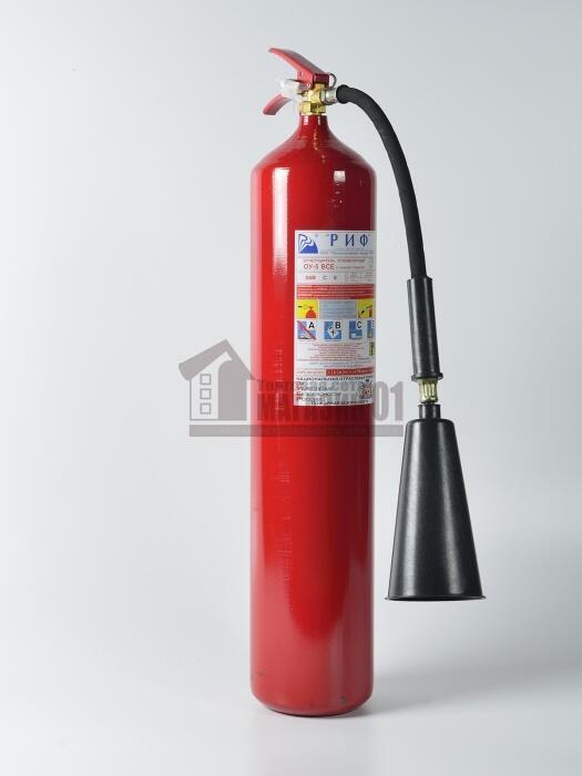Огнетушитель углекислотный ОУ-5 (г. Тула) (В, С, Е)