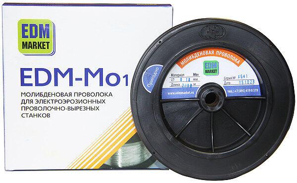 Проволока молибденовая EDM-M01 для проволочно-вырезных станков
