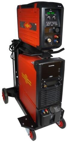 Инверторный сварочный полуавтомат с отдельным подающим механизмом CastoMig 3500DS
