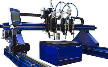 Компактные высокопроизводительные установки для газокислородной и плазменной резки MultiTherm eco