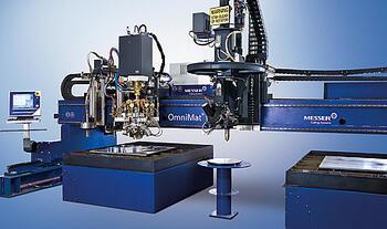 Установка для вертикальной и фасочной газовой и плазменной резки OmniMat®
