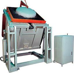 Печь тигельная плавильная для плавки цветных металлов