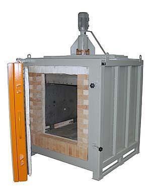 Газовая печь для закалки металла