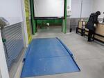 Низкопрофильные платформенные весы 1000 кг 1500X1500 мм