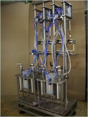Комплект полуавтоматического оборудования  для розлива  подсолнечного масла _ 2011 г.в. (01850)
