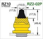 Твердосплавные дорожные резцы серии Road Razor II