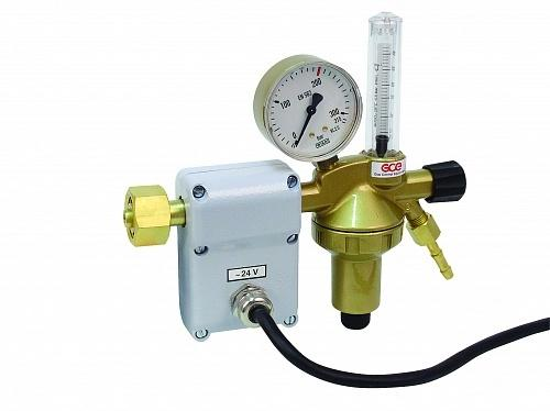 Редуктор углекислотный GCE DIN-Control 24 V N1 - Аргон/CO2 с подогревателем 24 V