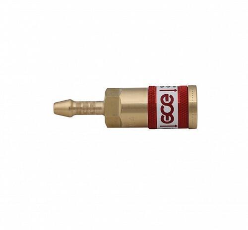 Быстросъемное соединение для рукава QC-030 6,3 мм Кислород