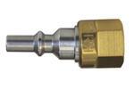 Быстросъемное соединение для горелки резака резьбовая муфта G 3/8 LH Горючий газ
