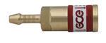 """Быстросъемное соединение для рукава QC-030 6,3 мм"""" Горючий газ"""