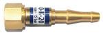 Клапан обратный КО-К-20 (кислород) вход резака/горелки М16х1,5/6,3/9,0 мм