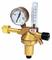 """Регулятор DINFLOW Control - Aргон/Углекислый газ - 200/ - бар, вх. G3/4""""; вых. G1/4""""; ротаметр 0-30 л/мин"""