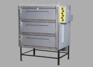 Шкаф пекарный электрический ШПЭ-3, ПЕНЗМАШ