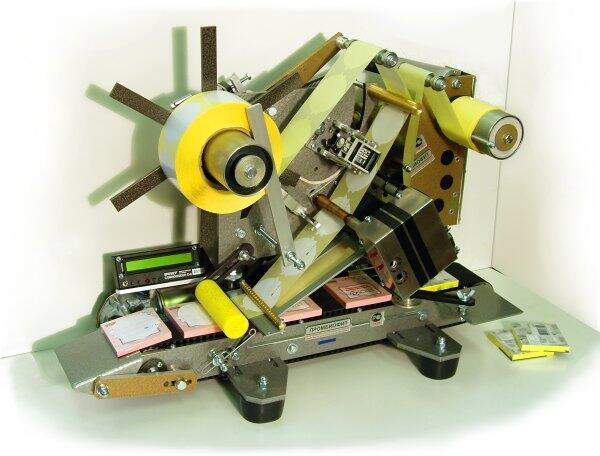Этикетировочная машина для нанесения самоклеящихся этикеток ЭМ-4П.Мини.СВ