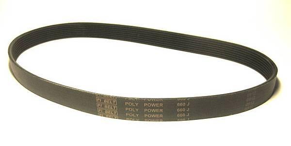 Приводной ремень 660 J8 для бетономешалок Limex и Euromix