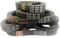 Приводные ремни для электроскутеров Alpha, Amplifier, Bladez, Bravo Black Box, Razor и др.
