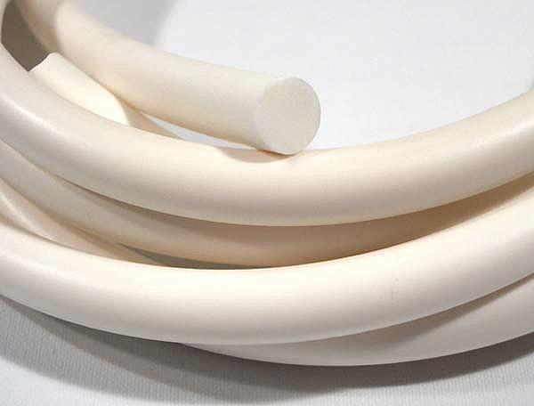 Шнур круглого сечения диаметр 6 мм из силиконовой резины