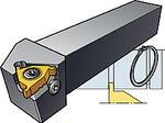 Для обработки канавок под стопорные кольца канавок CoroThread 254