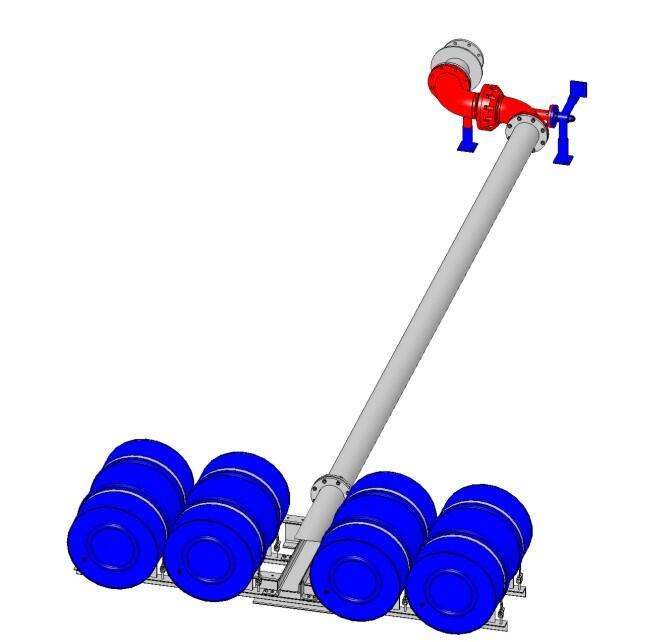 Труба подъёмная с понтоном ТПП.150