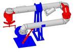 Установка слива нижнего для нефтепродуктов УСН-150