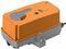 Привод воздушной заслонки , Ручное управление кнопкой с самовозвратом NKQ24P-SR