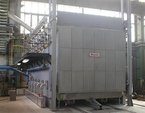 Газовые печи. Термическая обработка стали — нагревы перед ковкой