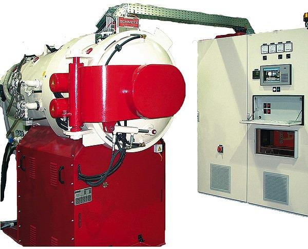 Горизонтальная высокотемпературная вакуумная печь SCHMETZ с фронтальной загрузкой