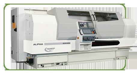 Токарный станок с ЧПУ серии ALPHA