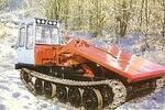 Гусеничный трелевочный трактор ТТ-4М-23К