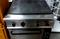 Плита электрическая Soget S90129 (Италия) со сплошной нагревательной поверхностью с 4-мя зонами нагрева и с духовым шкафом, Б/У