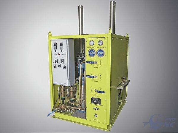 Установка водообогрева водолазов УВО-2