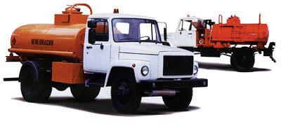 Автоцистерна для перевозки нефтепродуктов и топливозаправщики