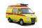Автомобиль экстренной медицинской помощи на базе ГАЗели БИЗНЕС Реанимобиль ГАЗ 3221