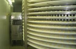 Спиральный конвейер для расстойки тестовых заготовок