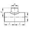 Тройники сварные с усиливающими накладками (ТСН), в т.ч. с решетками (ТСНР)  по ТУ 1469-006-82932963-2016, Рр до 10 МПа включительно