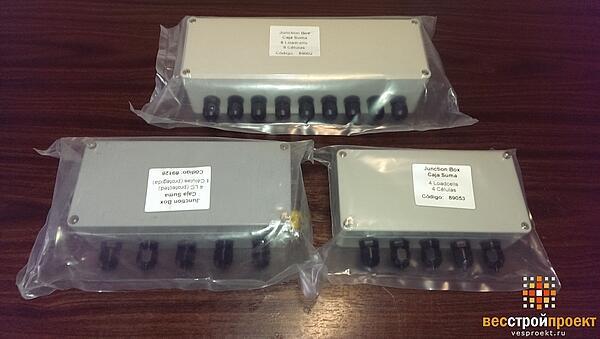 Комплекты вагонных электронных весов