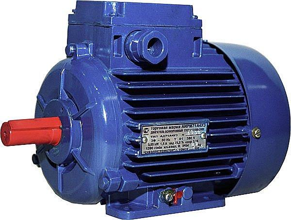 Оборудование из электродвигателя