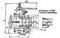 Кран пробковый 11с20бк, 11с20бк1 трехходовой сальниковый с паровым обогревом