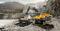 Гусеничный экскаватор Volvo EC350D