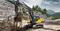 Гусеничный экскаватор Volvo EC250D
