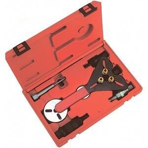 Набор для обслуживания компрессора кондиционера, кейс, 8шт мастак 105-30008c
