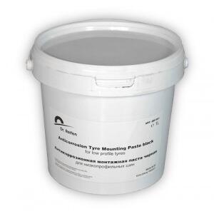 Монтажная паста для низкопрофильных шин dr. reifen с антикоррозионными свойствами, черная, 1l gb1001