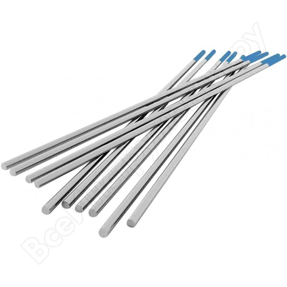 Электрод вольфрамовый wy-20 elkraft (10 шт; 2.4x175 мм) сварог 94566