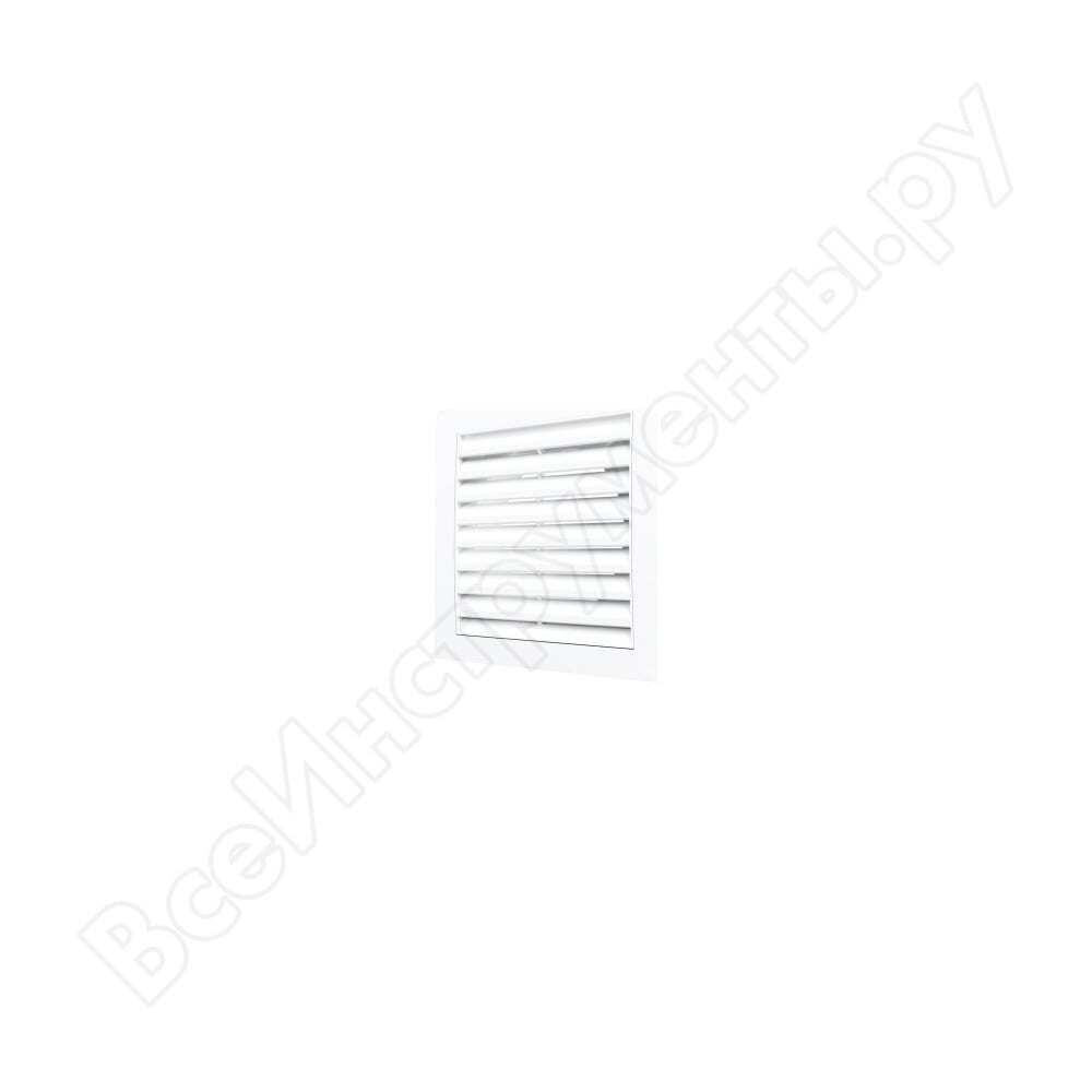 Решетка вентиляционная приточно-вытяжная (150х150 мм; фланец 100 мм; белая) era 1515r10f 90-01116