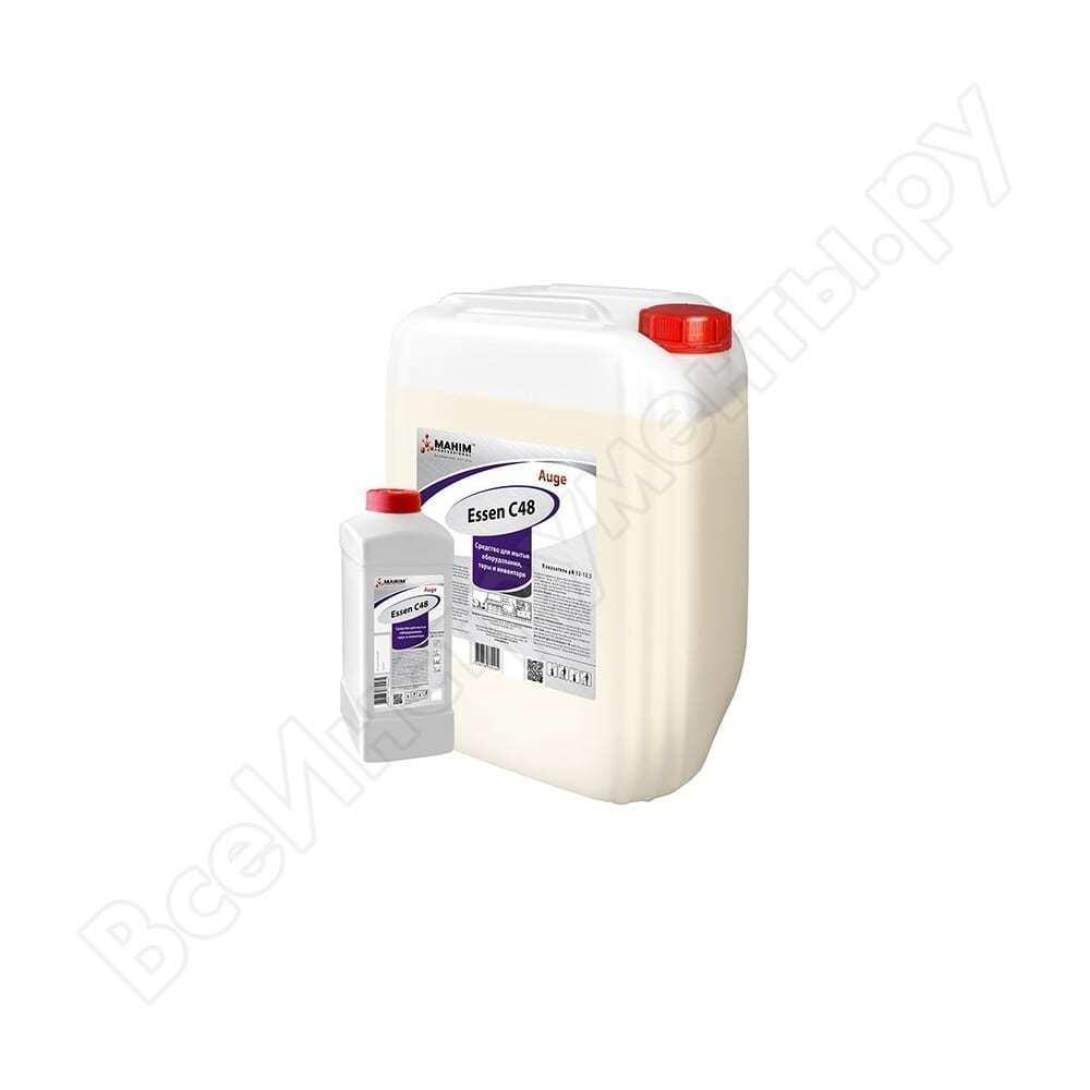 Средство для мытья оборудования и тары махим auge neo c 48 5 л 80841